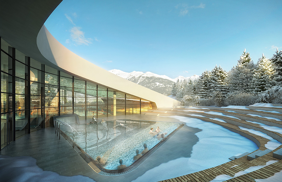 New Aquatic Centre Is Coming To Courchevel Chaletline Co Uk