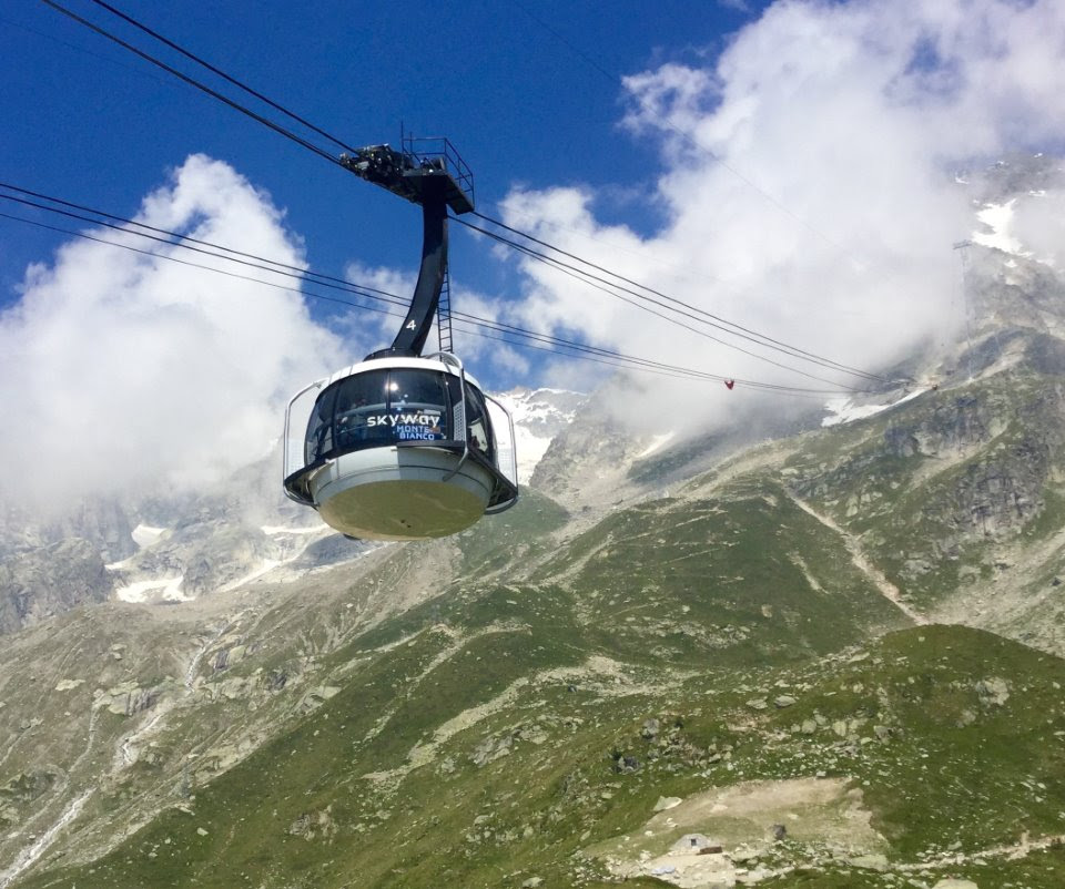 Skyway Mont Blanc Cable Car Opens In Courmayeur
