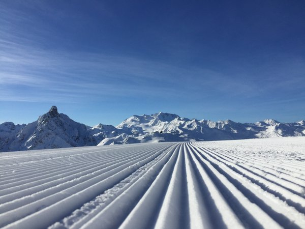 A perfect piste