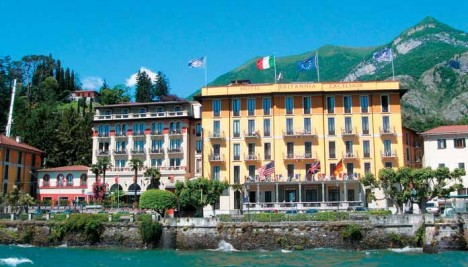 Hotel Britannia Excelsior Cadenabbia Lakes and Mountain