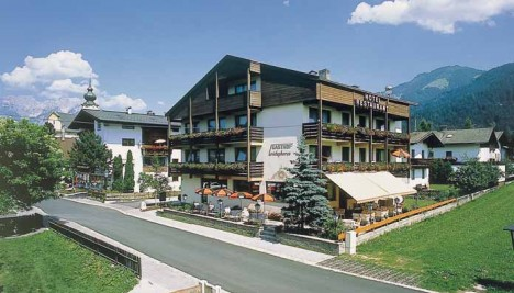 Hotel Christophorus Soll Lakes and Mountain