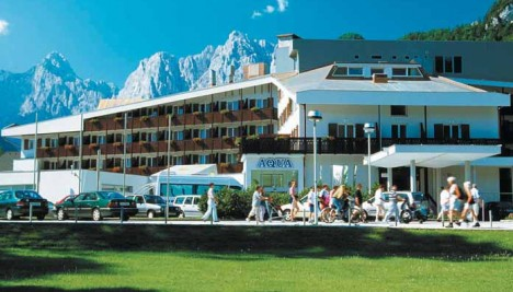 Hotel Larix Kranjska Gora Lakes and Mountain
