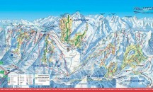 Maps for Montgenevre - Piste, town and resort maps.