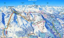 Maps for Klosters - Piste, town and resort maps.