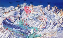 Maps for Saas Fee - Piste, town and resort maps.