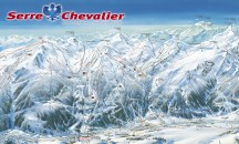 Maps for Serre Chevalier - Piste, town and resort maps.