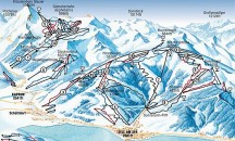 Maps for Kaprun - Piste, town and resort maps.