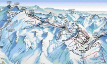 Maps for Les Deux Alpes - Piste, town and resort maps.