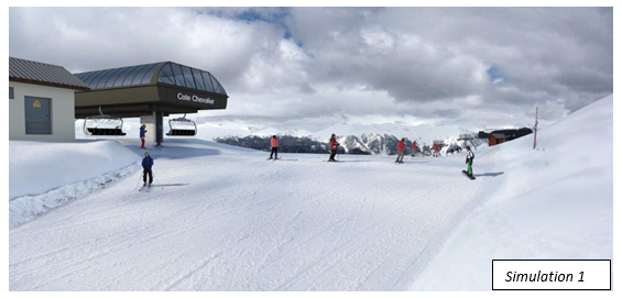 new chairlift serre che