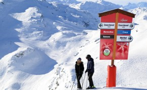 Ski Chalets in Courchevel 1550 - Image Credit:CourchevelTourisme-SkiAlpin-42 Courchevel Tourisme