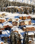 Ski Chalets in La Rosiere - Image Credit:Photo courtesy of La Rosiere Tourist board
