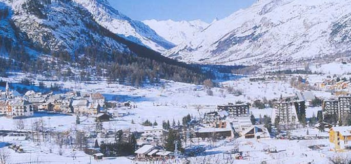 Serre Chevalier is near to Grenoble airport