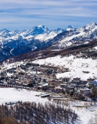 Ski Chalets in Sestriere - Image Credit:Shutterstock