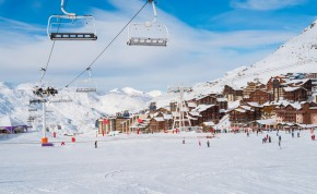 Ski Chalets in Val Thorens - Image Credit:Shutterstock
